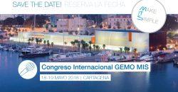 18 y 19 Mayo. Curso Internacional GEMO/GAED. Implantes en la odontología multidisciplinar estética