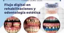 24 – 25 de Enero – Curso GEMO: Flujo digital en rehabilitaciones y odontología estética